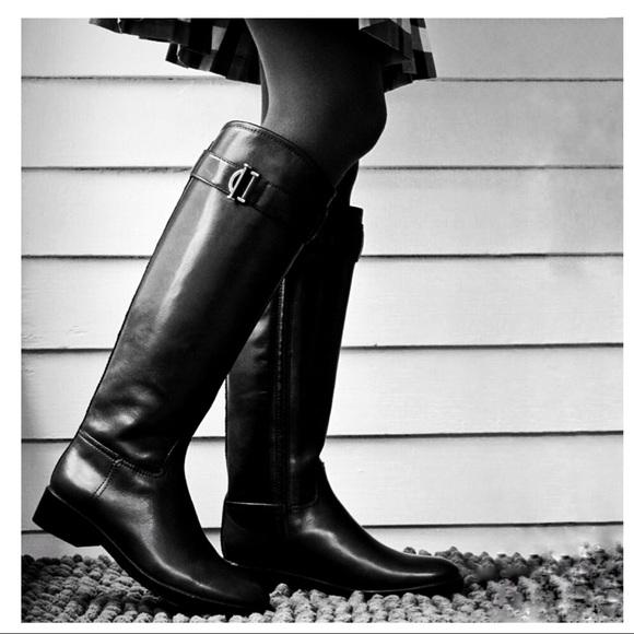 1607713b922 NIB Tory Burch Grace Knee High Riding Boots. NWT